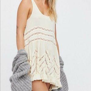 Intimately Free People Lace Trapeze Slip Dress